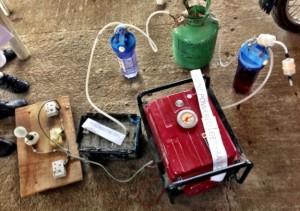 Nigerian Students Make Urine-Based Generator