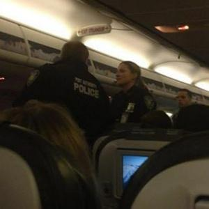 [Photo] TSA-holes: Plane Passenger Bound & Gagged to Seat During a 6-Hour Flight