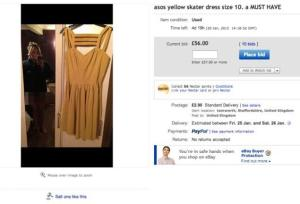 Size then yellow dress Girl Accidentally Puts A MUST HAVE Naked Picture Of Herself on eBay