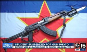 Freshman Suspended For A Digital Picture of Gun